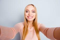People Person Tourism Journey Concept. Close Up Portrait Of Cute Stock Photography