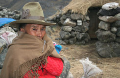 People of Peru Royalty Free Stock Image