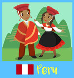 People of Peru Royalty Free Stock Images