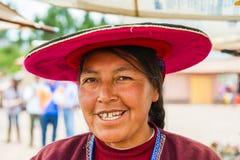 People in Peru Royalty Free Stock Image