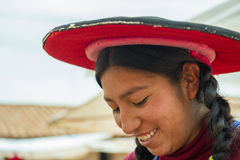 People in Peru Royalty Free Stock Images