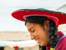People in Peru Stock Image
