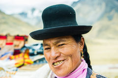 People in Peru Stock Photography