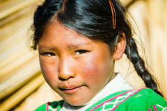 People in Peru Royalty Free Stock Photography