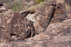 People Petroglyph Royalty Free Stock Image