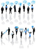 People and pharmacy Stock Images