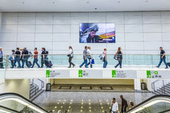 People at the Photokina 2014 Royalty Free Stock Photo