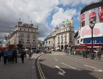 People in Piccadilly Circus in London Stock Photos