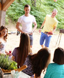 People on the picnic Royalty Free Stock Photography