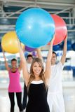 People at a pilates class Stock Photo