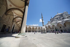People on place in Sultanahmet Mosque Stock Photos