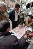 People play Chinese Chess, China Royalty Free Stock Images