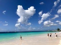 Browns beach in Barbados, Caribbean stock photos
