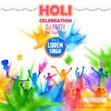 People playing Holi Royalty Free Stock Photos