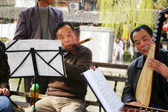 People playing instruments in China Stock Images
