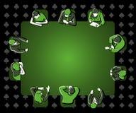 People playing poker Royalty Free Stock Image