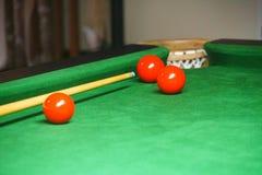 People playing pool snooker royalty free stock image