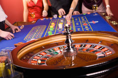 People playing roulette Royalty Free Stock Images