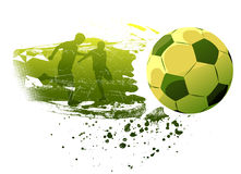 People playing soccer Royalty Free Stock Images