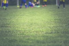 People Playing Soccer on Soccer Field during Daytime Royalty Free Stock Photography
