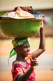 People in PORTO-NOVO, BENIN Royalty Free Stock Photo
