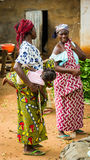 People in PORTO-NOVO, BENIN Stock Image