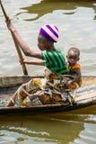 People in PORTO-NOVO, BENIN Royalty Free Stock Images