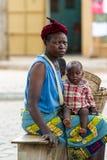 People in PORTO-NOVO, BENIN Stock Photo