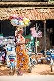 People in PORTO-NOVO, BENIN Royalty Free Stock Photos