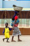 People in PORTO-NOVO, BENIN Royalty Free Stock Photos