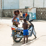People in PORTO-NOVO, BENIN Royalty Free Stock Image
