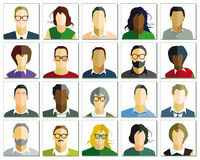 People portraits Royalty Free Stock Image