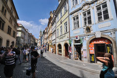 People in Prague Royalty Free Stock Photography
