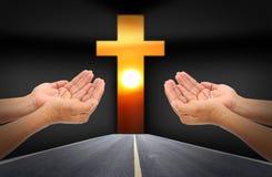 People praying Stock Images