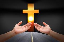 People praying Royalty Free Stock Image