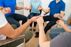 People praying together Royalty Free Stock Photography