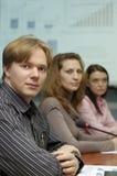People on presentation Royalty Free Stock Photo