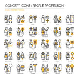 People Profession , Pixel Perfect Icons royalty free illustration