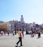 Madrid people Royalty Free Stock Photos