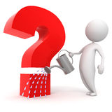 People_question Royalty Free Stock Photo