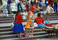 People in Quito Royalty Free Stock Photos