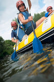 People rafting Royalty Free Stock Photo