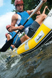 People rafting Royalty Free Stock Photo