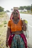 People of Rajasthan, India royalty free stock image