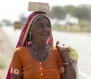 People of Rajasthan, India royalty free stock photography