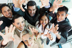 People reach out royalty free stock photos