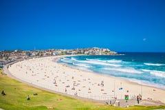 Free People Relaxing On The Bondi Beach In Sydney, Australia. Stock Photography - 86198402