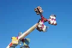 Carnival ride. Royalty Free Stock Photo