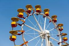 People Riding Giant Ferris Wheel Royalty Free Stock Photo