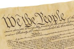 We The People - Right Facing View Royalty Free Stock Image